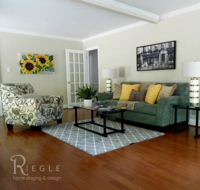 Staged Livingroom