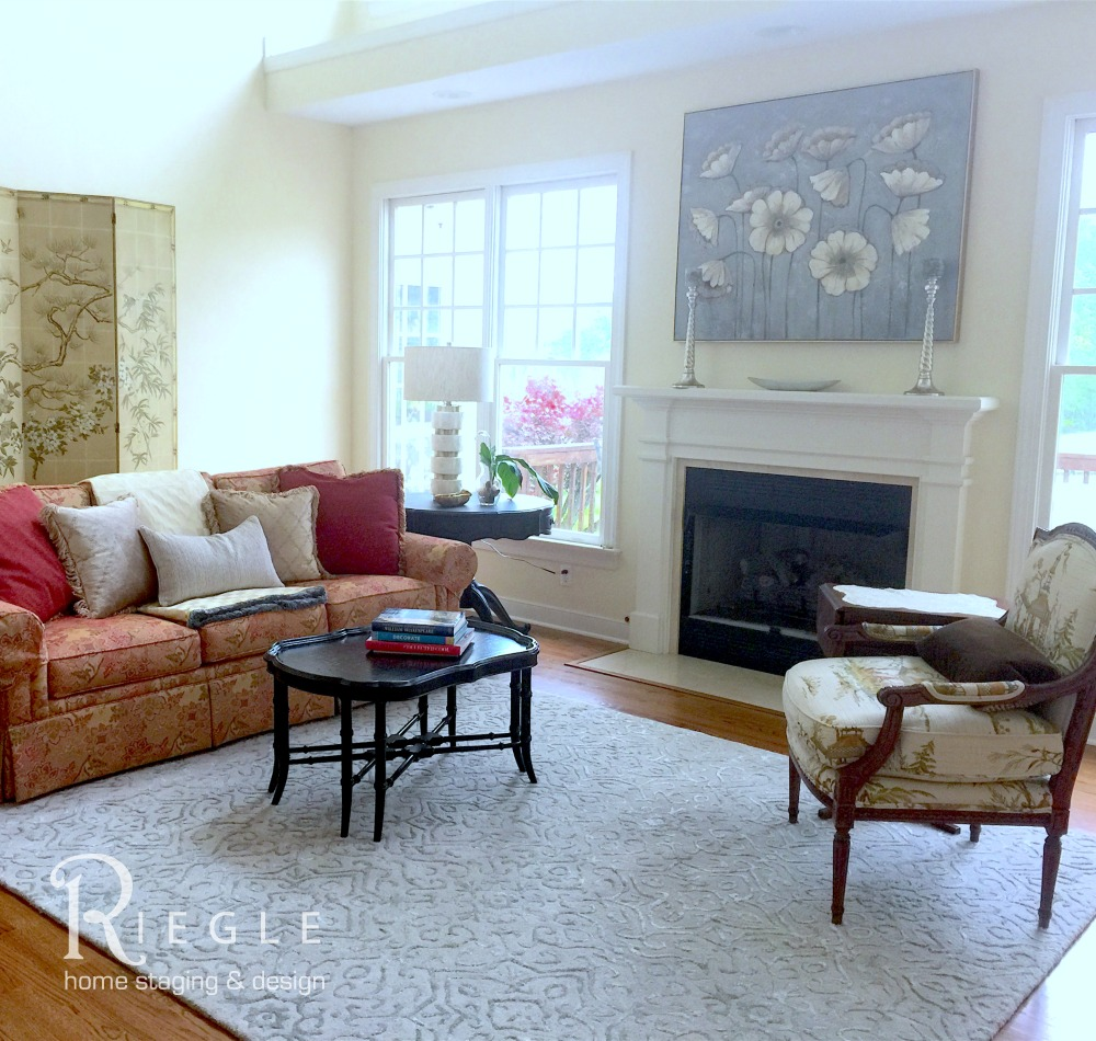 Home Staging Livingroom